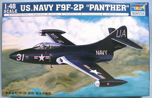 """[Trumpeter] F9F 2P """"Panther"""" - 1/48e 1410280556014769012652552"""