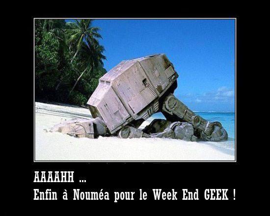 WEEK-END GEEK : RENDEZ-VOUS DEMAIN ! dans Nouvelle-Calédonie 14110709343915263612681239