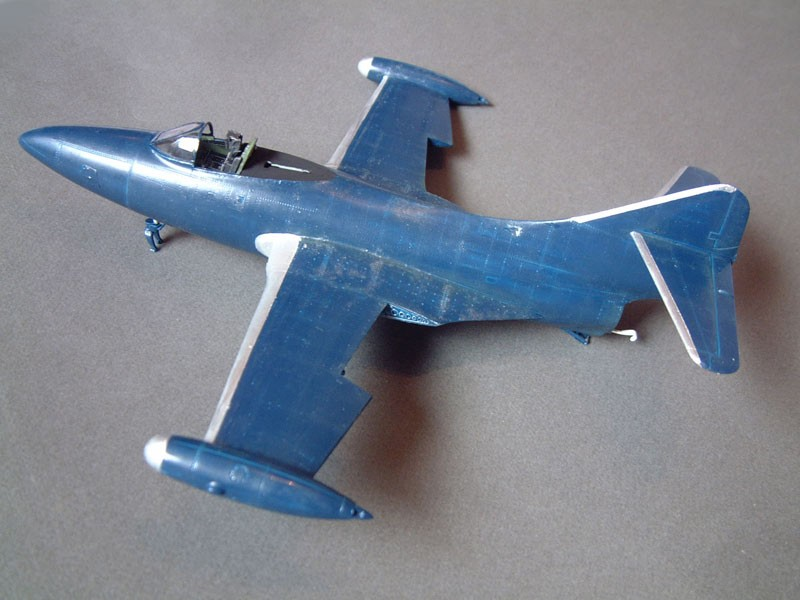 """[Trumpeter] F9F 2P """"Panther"""" - 1/48e 1411080936284769012684507"""
