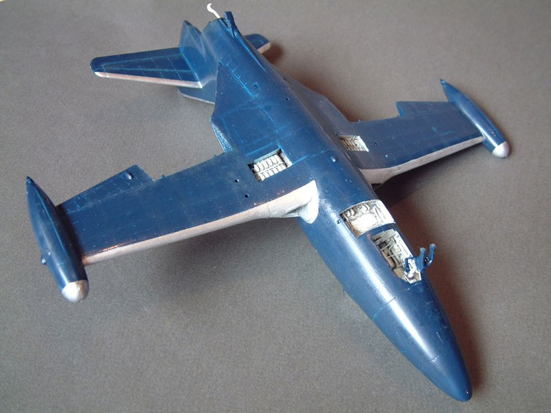 """[Trumpeter] F9F 2P """"Panther"""" - 1/48e 1411080936294769012684508"""
