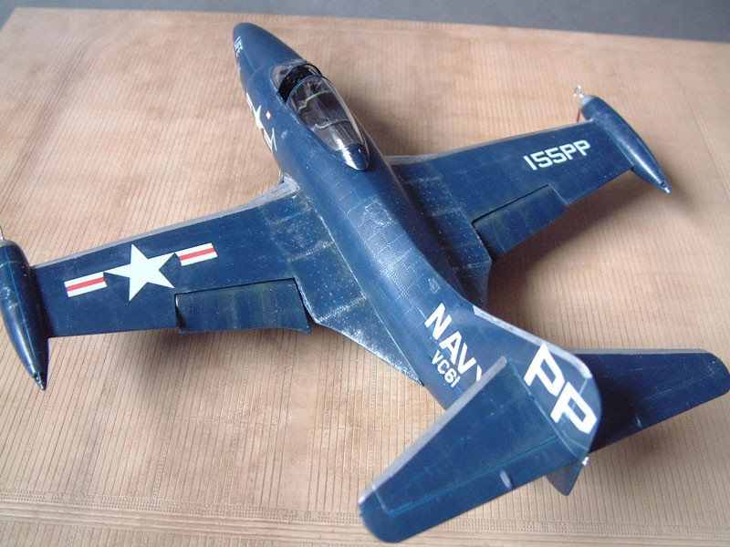 """[Trumpeter] F9F 2P """"Panther"""" - 1/48e 1411100216104769012692035"""