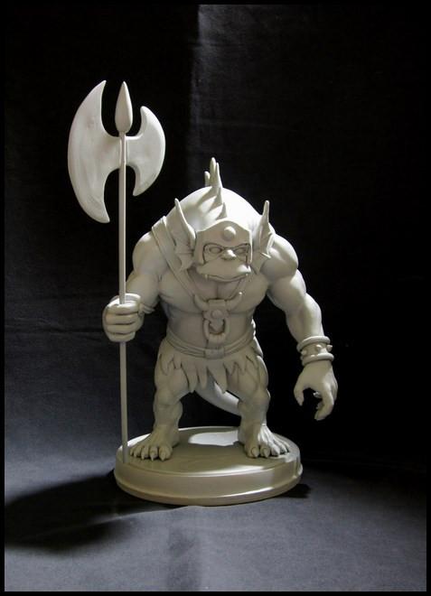 Thundercats : Slithe statue 14111207421616083612699879