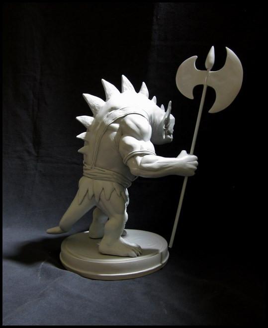 Thundercats : Slithe statue 14111207421716083612699881