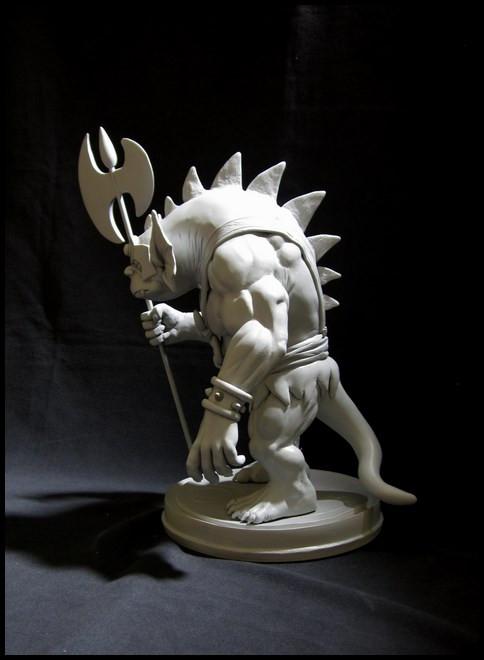 Thundercats : Slithe statue 14111207422016083612699883