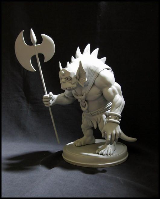 Thundercats : Slithe statue 14111207422116083612699885
