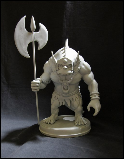 Thundercats : Slithe statue 14111207422316083612699887