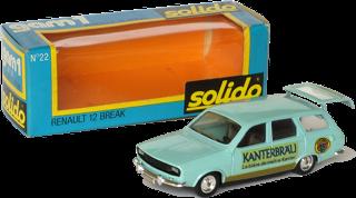 Renault 12 Solido
