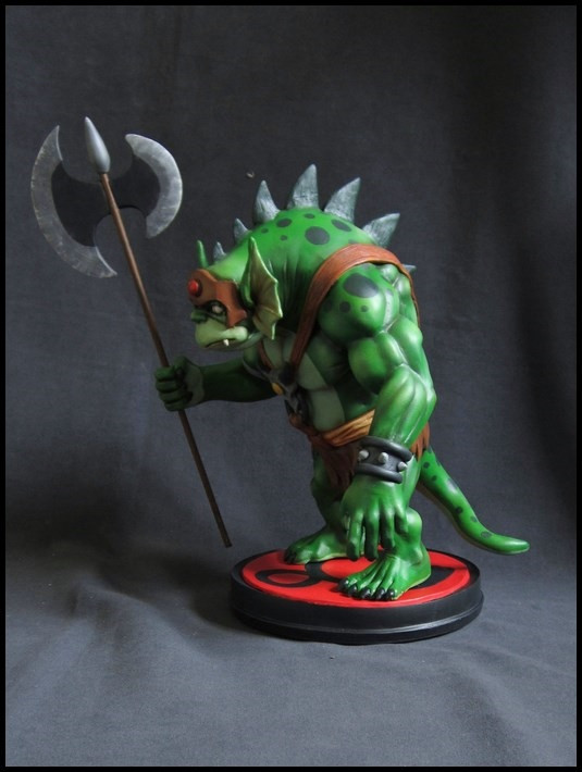 Thundercats : Slithe statue 14111605360316083612709081