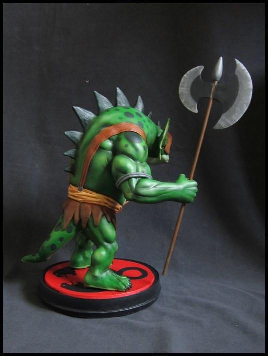 Thundercats : Slithe statue 14111605360816083612709086