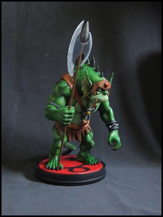 Thundercats : Slithe statue 14111605361016083612709087