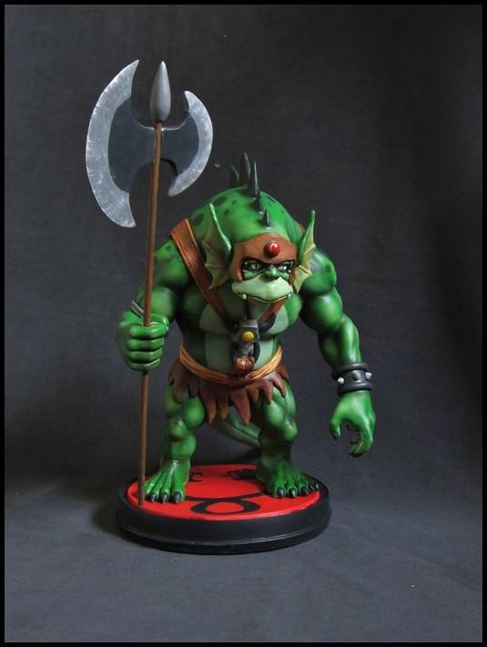 Thundercats : Slithe statue 14111605361216083612709088