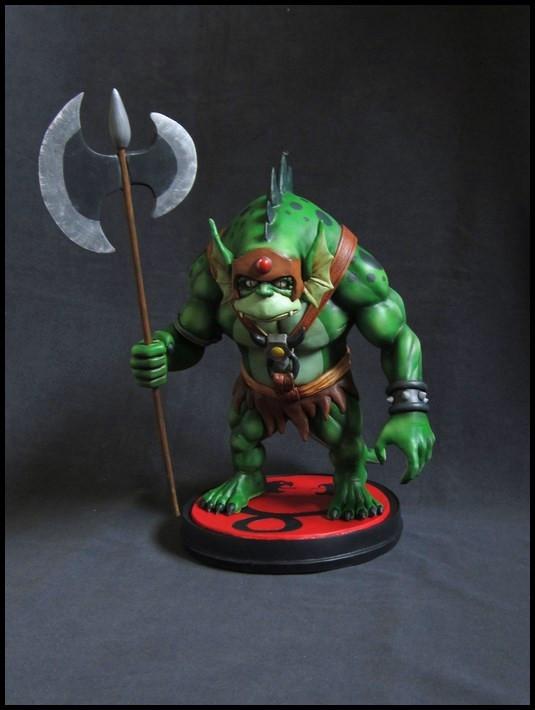 Thundercats : Slithe statue 14111605361316083612709089