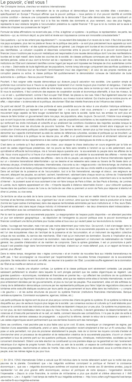 Je signe pour la 6e République + Déclaration de Marie George Buffet + Diverses signatures et appels (politiques, associatifs, intellectuels), signatures collectives (Socialistes affligés, militants PCF, Nouvelle Donne, syndicalistes)  14112305440417936712732011