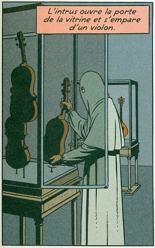 0 vitrine violon