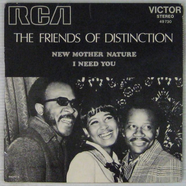 FRIENDS OF DISTINCTION - New Mother Nature - 7inch (SP)