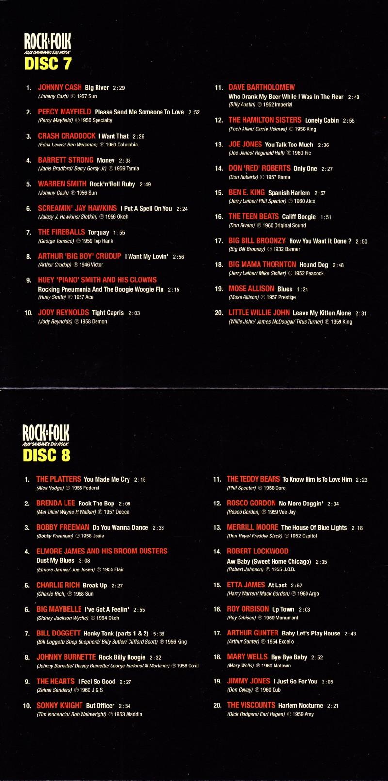 """Sélection de 200 titres par VINCENT PALMER (BIJOU) pour le coffret 10 CDs """"ROCK&FOLK : aux origines du rock"""" (Body & Soul/Wagram, 2011) 14121412180317899512793319"""