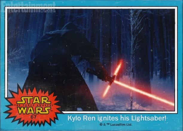 Kylo Ren Ignites His LightSaber