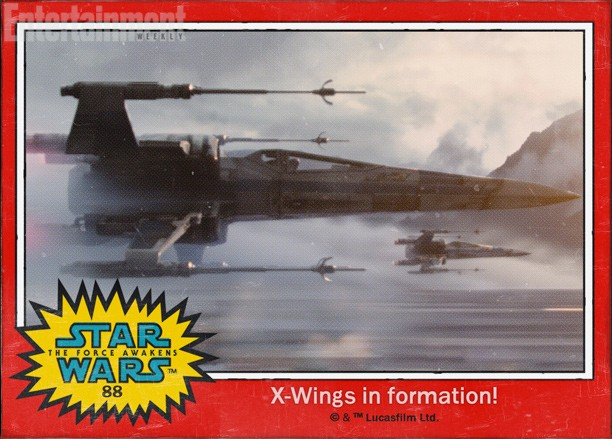 X Wings On Formation !