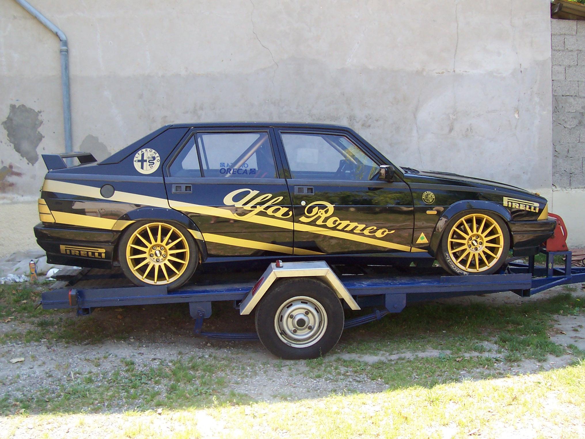 Alfa 75 1.8 Turbo piste 14121810053211099712805282