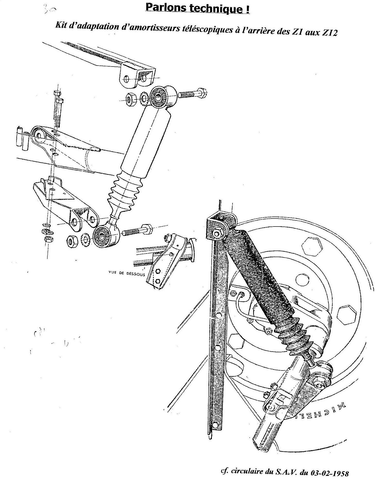 rsuspension AR Z1 telesco