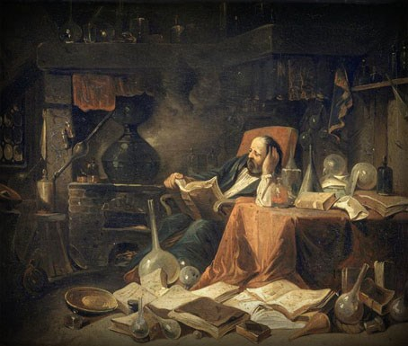 L'Alchimiste sous le regard des peintres 1412300544473850012835030