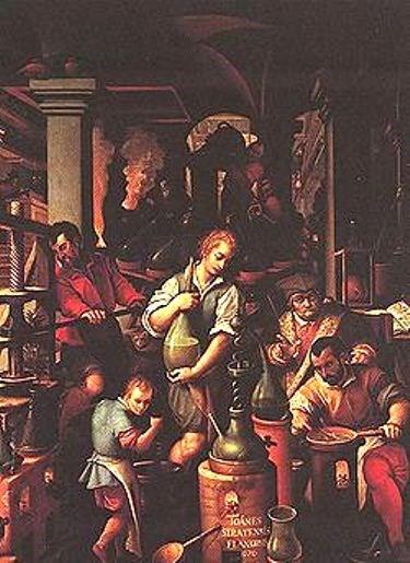 L'Alchimiste sous le regard des peintres 1412300648523850012835234