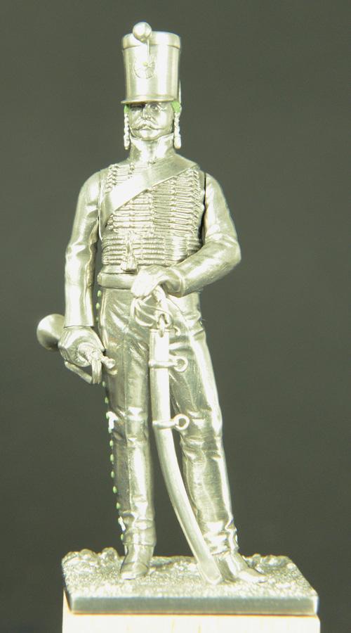 Trompette de Hussards du 7ème Régiment à Waterloo. 1501070826533593412857599