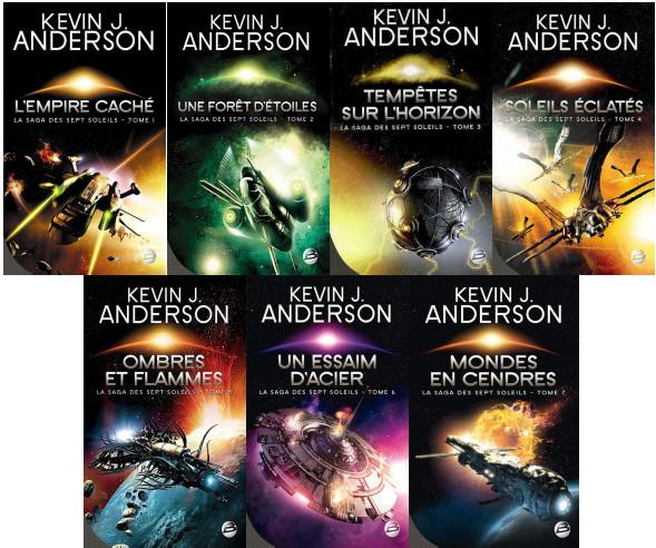 Saga des 7 soleils tome 1 a 7 Anderson Kevin J