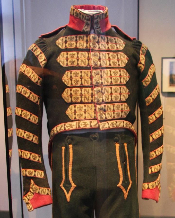Trompette de Hussards du 7ème Régiment à Waterloo. 1501170811313593412884004