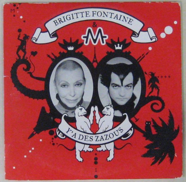 FONTAINE BRIGITTE & M - Y'a des zazous - CD single