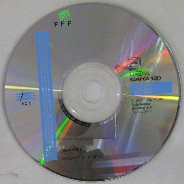F.F.F. - Morphée - CD single