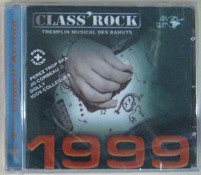 ARTISTES DIVERS - Class'Rock - Tremplin musical des bahuts - CD
