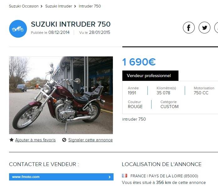 Une sublime VS 750 GL... vendue ! 1501280724132891812914253