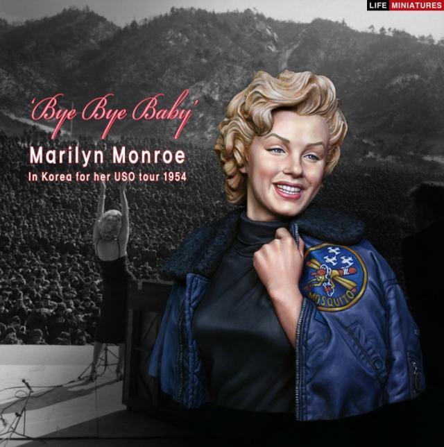 Marilyn Monroe: Korea USO Tour Février 1954.  FINIE 15012811364016819912912451