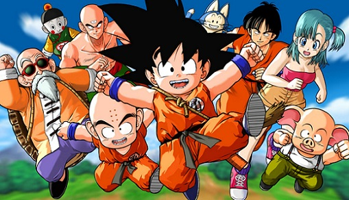 LA SF À YOM - Dragon Ball dans Anime 15012901151915263612914914