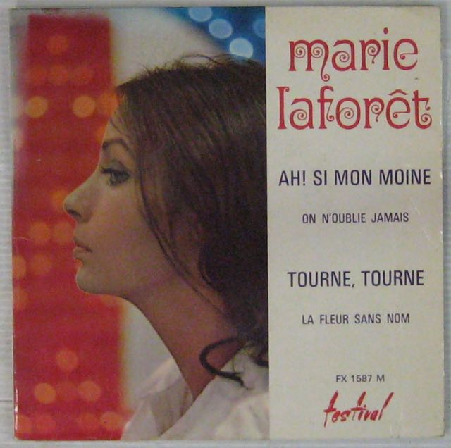 LAFORÊT MARIE - Ah ! Si mon moine - 7inch (EP)