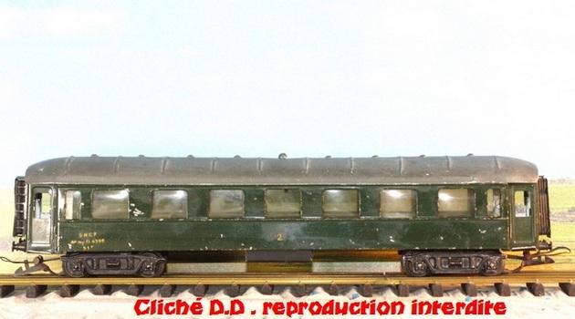 WAGONS MARTIN/FEX-MINIATRAIN 4 éme série 1953/54 1ère partie wagons longueur 23 cm 15021008204616773112952068