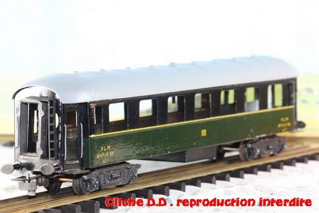 WAGONS MARTIN/FEX-MINIATRAIN 4 éme série 1953/54 1ère partie wagons longueur 23 cm 15021008210616773112952086