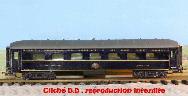 WAGONS MARTIN/FEX-MINIATRAIN 4 éme série 1953/54 1ère partie wagons longueur 23 cm 15021008210816773112952088