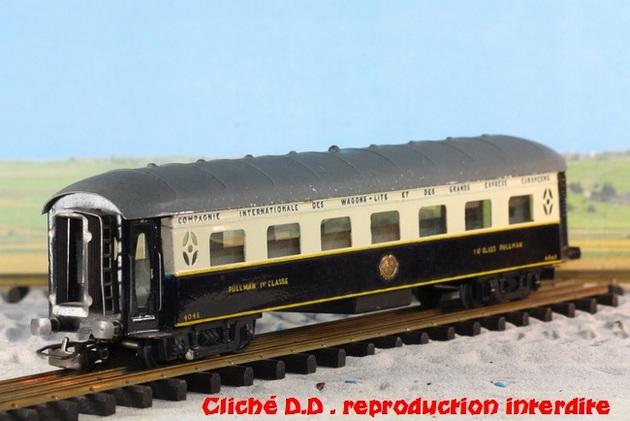 WAGONS MARTIN/FEX-MINIATRAIN 4 éme série 1953/54 1ère partie wagons longueur 23 cm 15021008211816773112952099