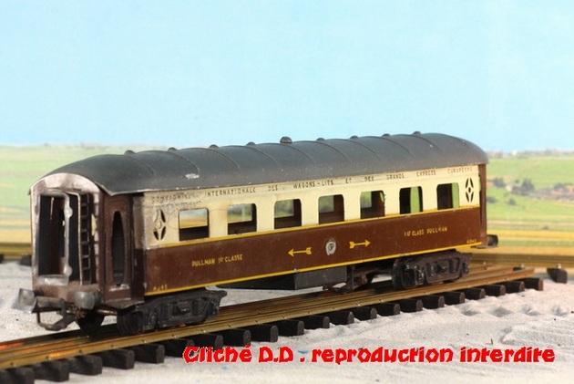 WAGONS MARTIN/FEX-MINIATRAIN 4 éme série 1953/54 1ère partie wagons longueur 23 cm 15021008214916773112952113