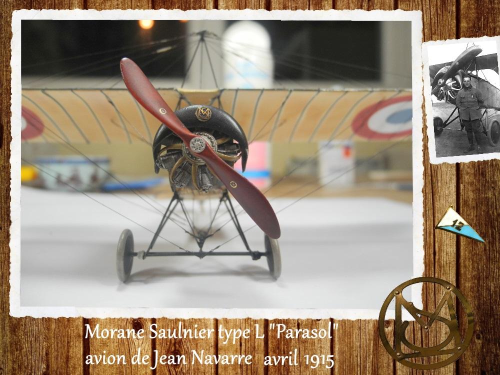 """1/48 Eduard: MS type L """"parasol"""" J. Navarre avril 1915 15021010263218634312952449"""