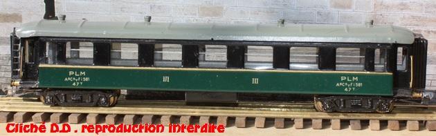 WAGONS MARTIN/FEX-MINIATRAIN 4 éme série 1953/54 1ère partie wagons longueur 23 cm 15021103202016773112953499