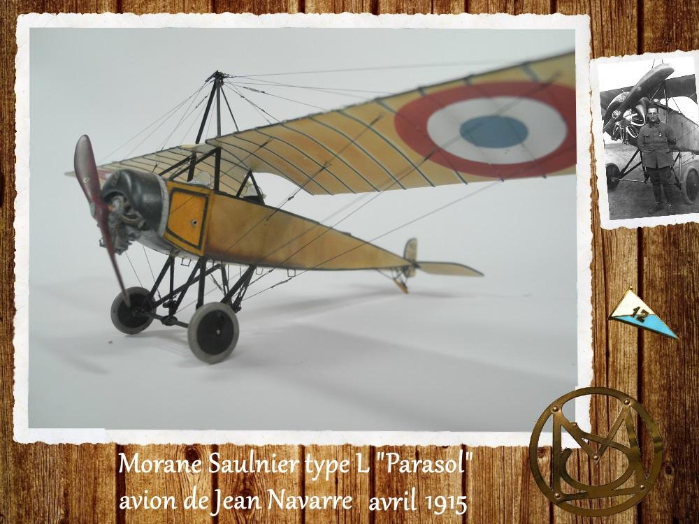"""1/48 Eduard: MS type L """"parasol"""" J. Navarre avril 1915 15021104455718634312953735"""