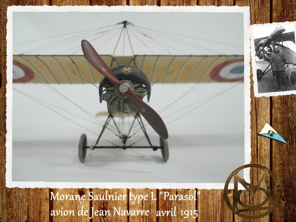 """1/48 Eduard: MS type L """"parasol"""" J. Navarre avril 1915 15021104455818634312953738"""