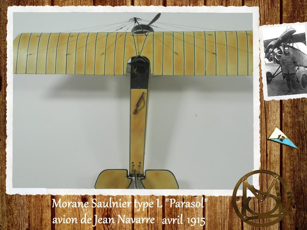 """1/48 Eduard: MS type L """"parasol"""" J. Navarre avril 1915 15021104460018634312953742"""