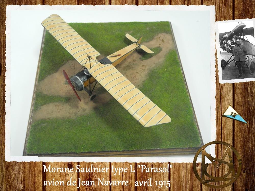 """1/48 Eduard: MS type L """"parasol"""" J. Navarre avril 1915 15021104460018634312953743"""