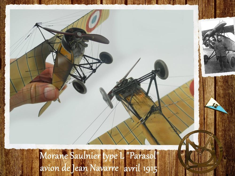 """1/48 Eduard: MS type L """"parasol"""" J. Navarre avril 1915 15021104460218634312953746"""