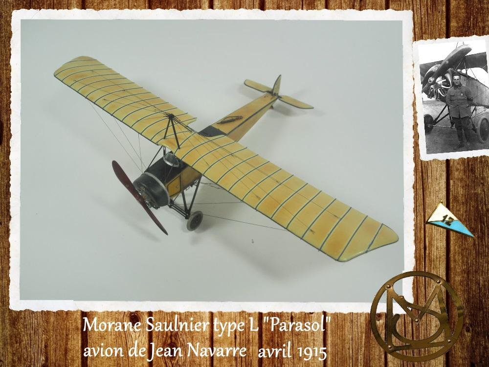 """1/48 Eduard: MS type L """"parasol"""" J. Navarre avril 1915 15021104460318634312953748"""