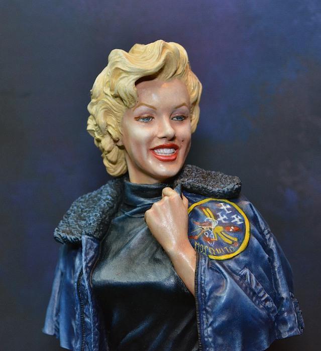 Marilyn Monroe: Korea USO Tour Février 1954.  FINIE 15021111082016819912953012
